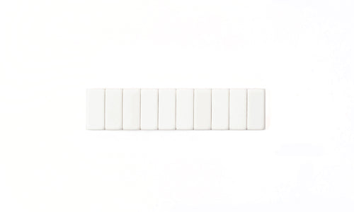 Blackwing Replacement Erasers, Set of 10- White