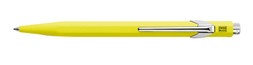 Caran D'ache Metal Ballpoint Pen- Yellow