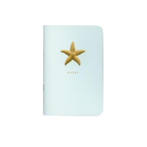 Crane and Co Starfish Beach Glass Notebook