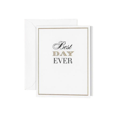 "Crane and Co ""Best Day Ever"" Birthday Greeting Card"