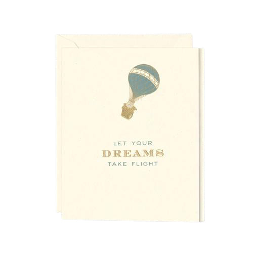 "Crane and Co ""Let Your Dreams Take Flight"" Greeting Card"