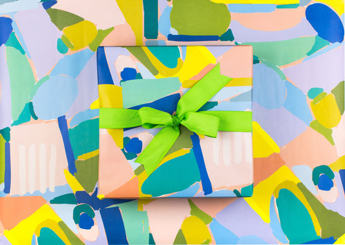 Sweet Caroline Abstract Wrapping Paper