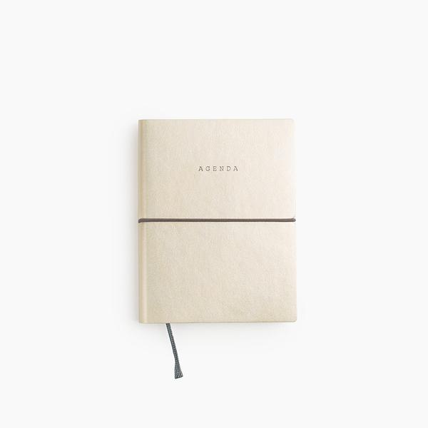 Poketo Agenda Open-Dated Planner in Gold or Silver