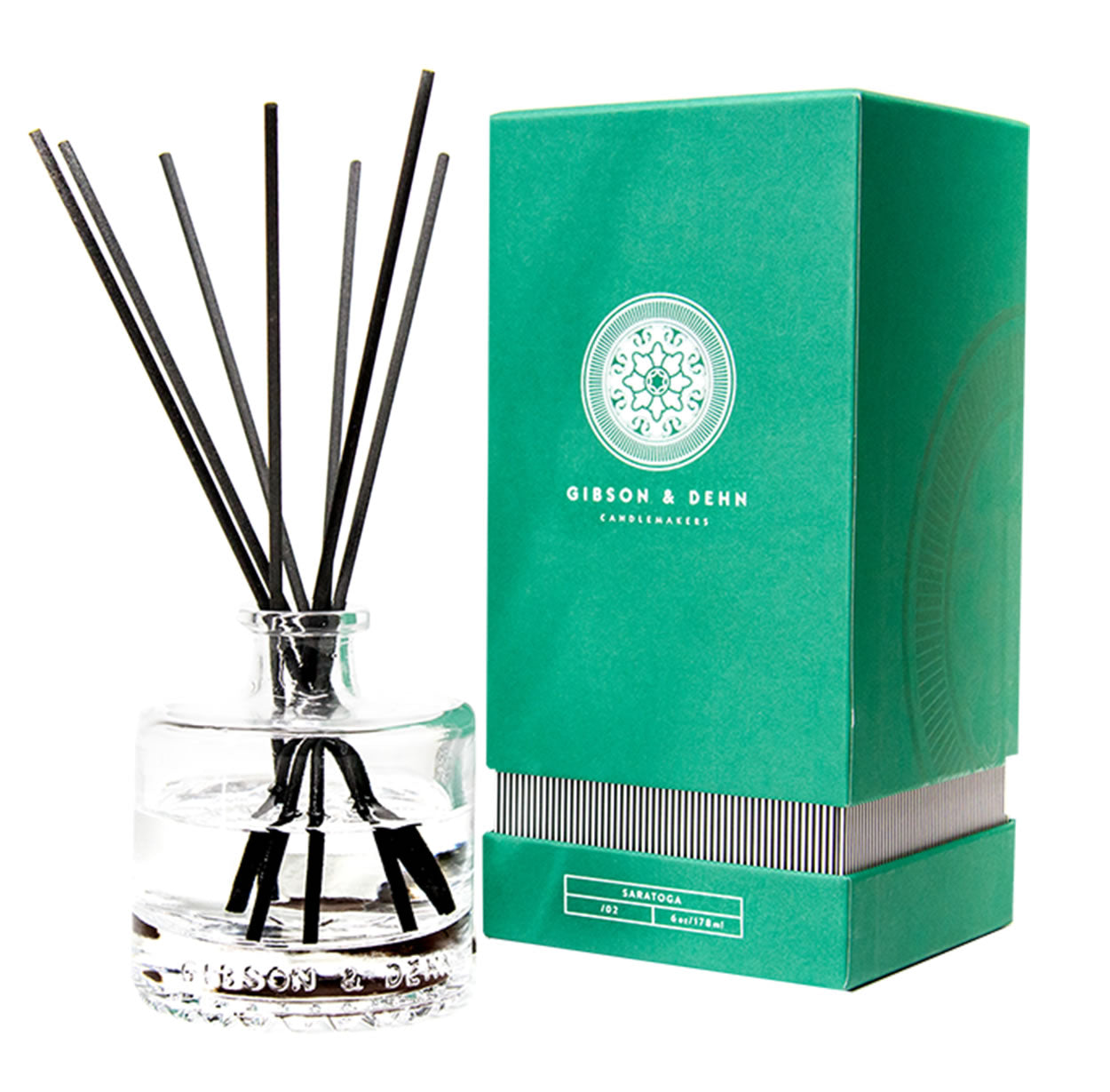 Gibson and Dehn Saratoga Diffuser- White Tea and Cedar