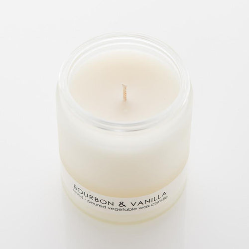 Formulary 55 Bourbon and Vanilla Frosted Candle