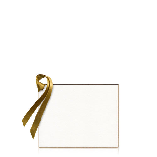Bell'INVITO Gold Edged Gift Tag (Blank)