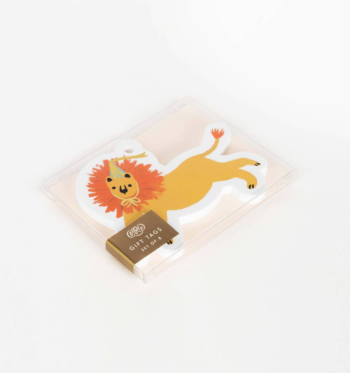 Rifle Paper Party Lion Die Cut Gift Tags, Set of 8