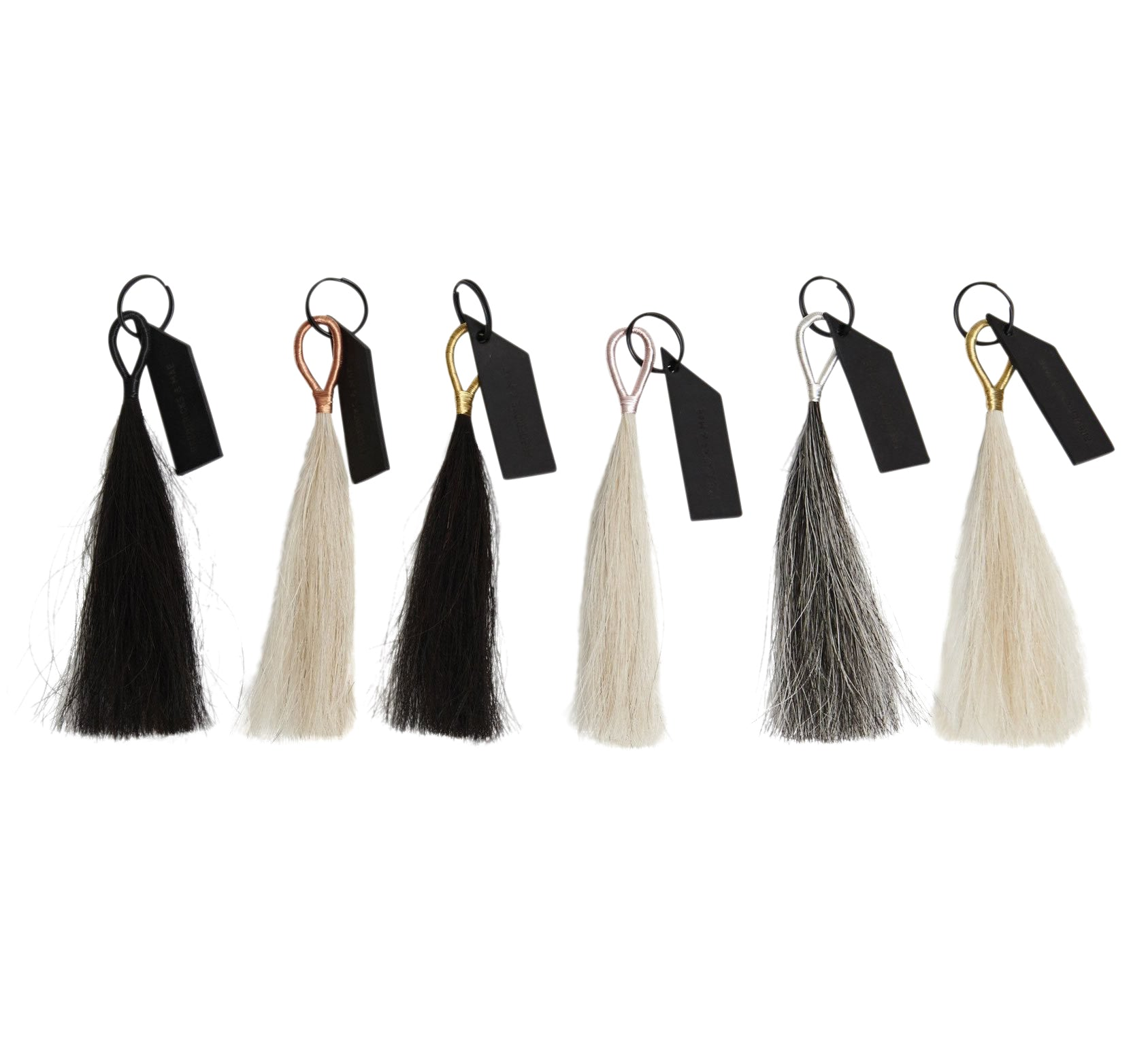 Fredericks and Mae Horse Hair Tassel Key Chain