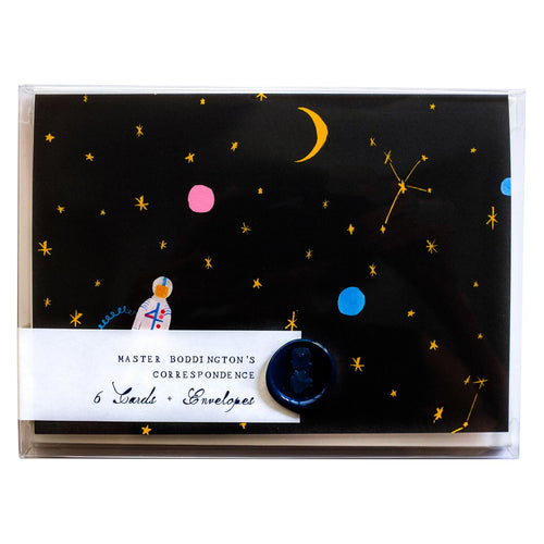 Mr. Boddington Box of 6 Note Cards- Where is Jupiter?