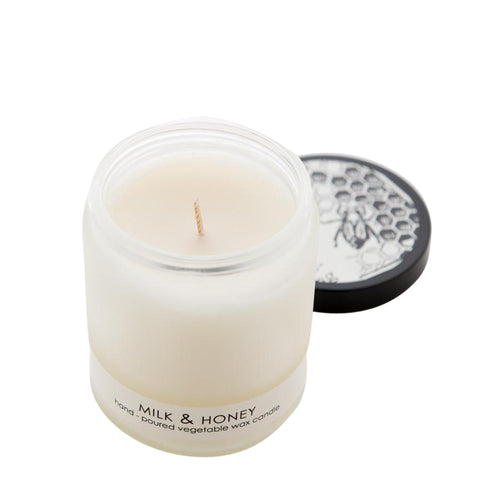 Formulary 55 Milk and Honey Frosted Candle