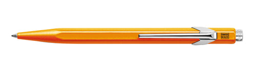 Caran D'ache Metal Ballpoint Pen- Orange