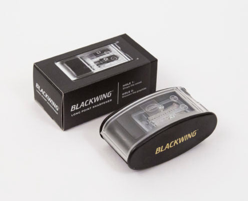 Blackwing Long Point Pencil Sharpener- Black