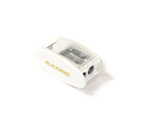 Blackwing Long Point Pencil Sharpener- White