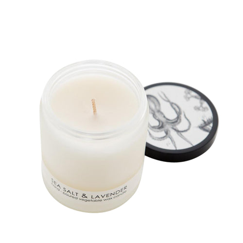 Formulary 55 Sea Salt and Lavender Frosted Candle