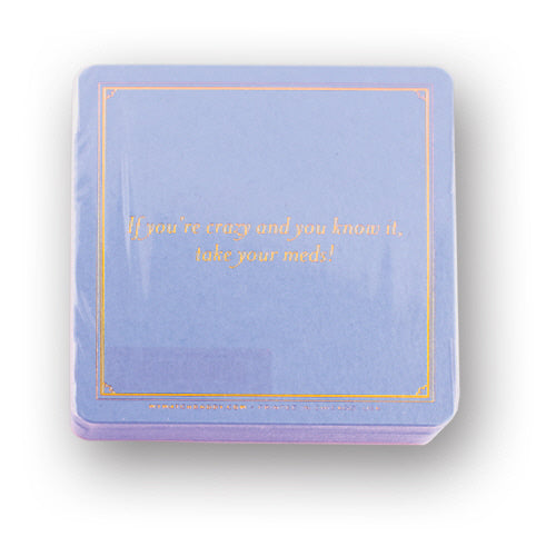 "MatchDaddy ""If You're Crazy"" Coaster"