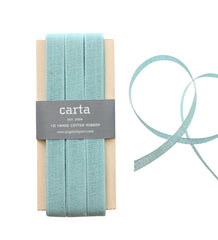 Studio Carta by Angela Liguori Loose Weave Cotton Ribbon - Pool