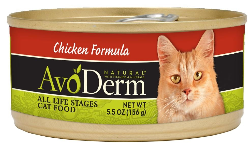 Avoderm Natural Kitten and Adult Chicken Formula Canned Cat Food
