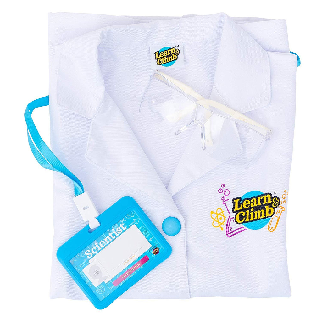 Learn & Climb Kids lab Coat Set
