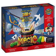 Jumbo Magic Tricks Set for Kids. Perform Hundreds Today's Most Exciting Tricks. Magic Kit with Instructional DVD