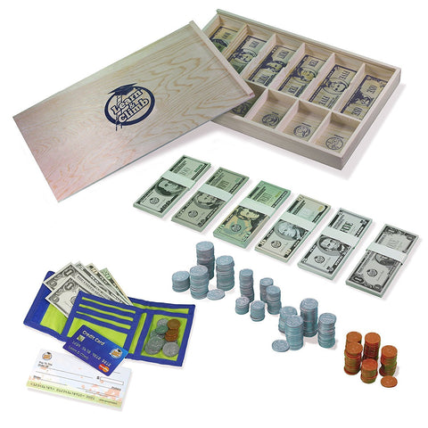 Educational Play Money Set for Kids