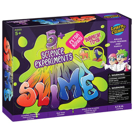 Learn & Climb Slime Making Lab kit for Girls & Boys-Great Chemistry Set for Kids 5-10