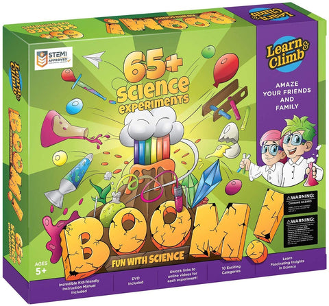Science Kit 60 Mega Science Experiments for Kids