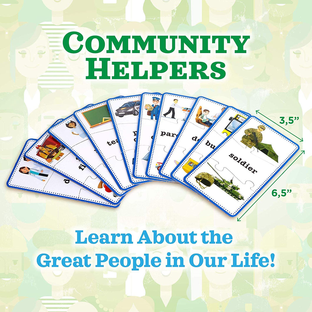 Community Helpers Puzzle