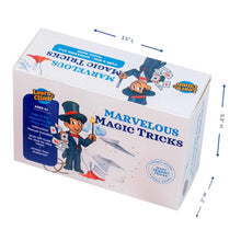 Learn & Climb - Marvelous Magic Tricks Kit | Includes Appearing Silk Trick, Cube & Box Trick & Magic Rope Illusion & Instruction Manual | Set of 3 Unique Props for Kids to Learn & Perform 5+ Tricks