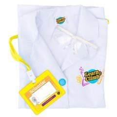 Learn & Climb Kids Scientist Lab Coat