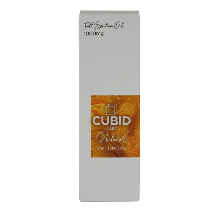 Cupid CBD - 1000mg Hemp Oil, Natural