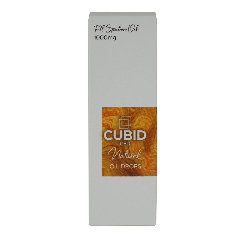 Cubid CBD - 1000mg Hemp Oil, Natural