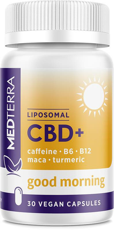Liposomal CBD+ Good Morning : 30 Tablets