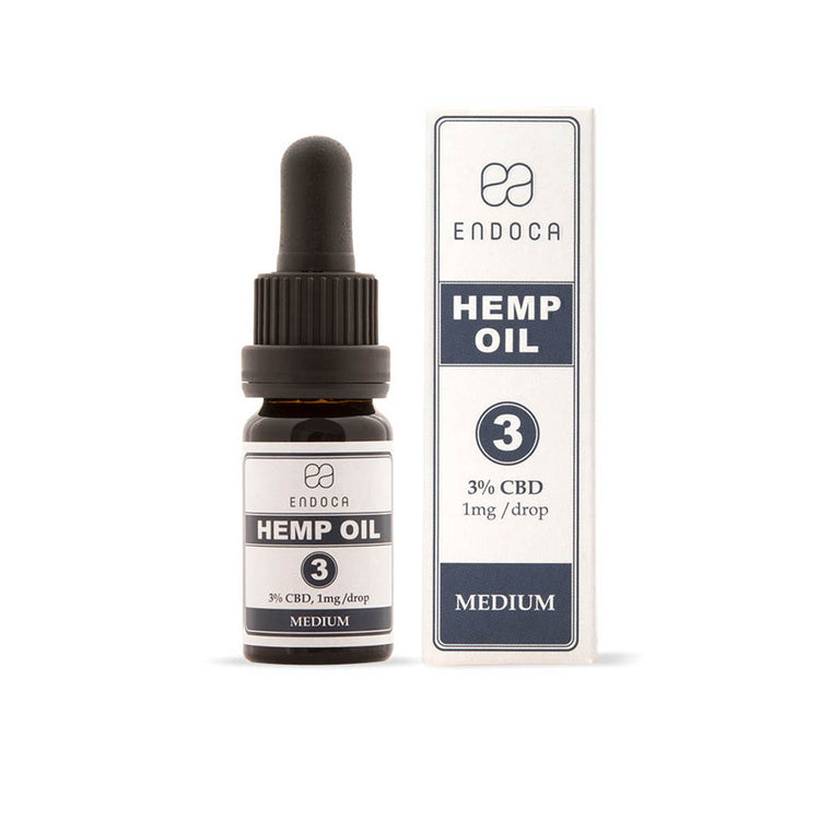 Endoca | 300mg CBD | Hemp Oil Drops