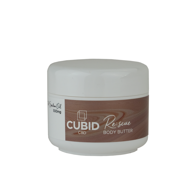 Cubid CBD - Rescue Body Butter 100ml | 500mg CBD