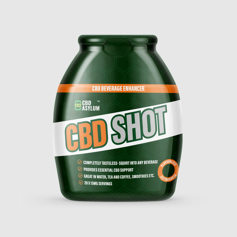 CBD Shot, Beverage Enhancer : With 300mg CBD : 60ml Bottle