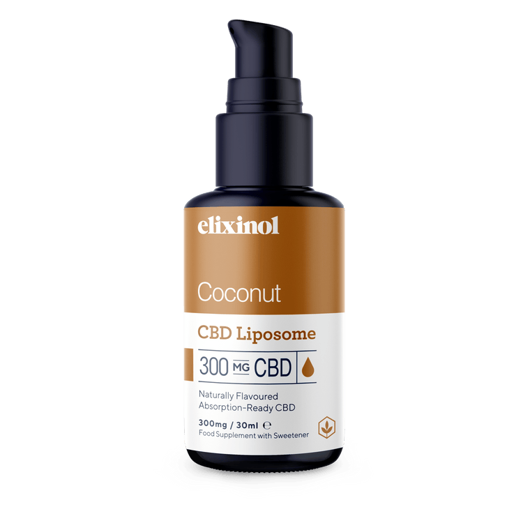 ELIXINOL - Liposome | 300mg CBD | Coconut