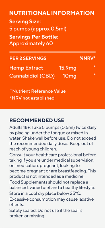 ELIXINOL - Liposome | 300mg CBD | Orange