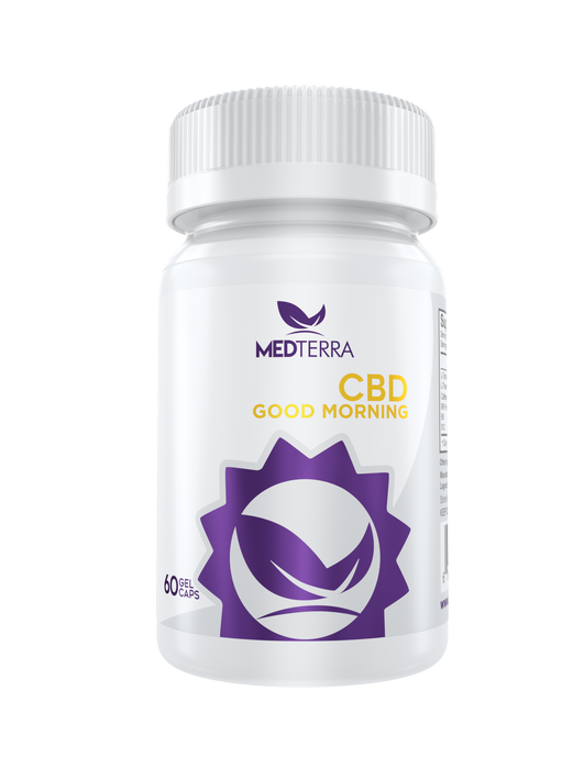 Medterra - 1500mg CBD | Good Morning Capsules | 60 capsules