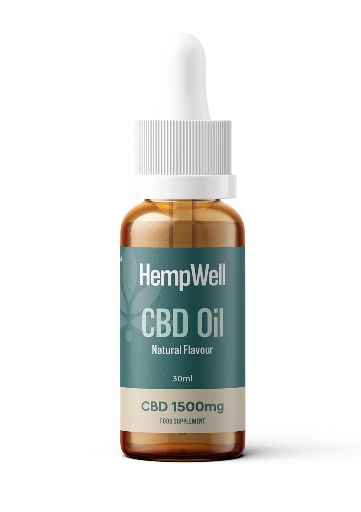 HempWell CBD Oil | 1500mg CBD | 30ml Bottle freeshipping - CBDSupermarket