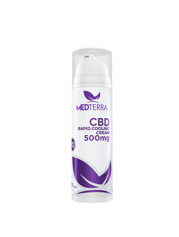 Medterra Cream for pain 500mg CBD : 50ml Bottle