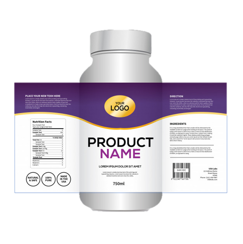Private Label - 1 Label Design Fee (per product) freeshipping - CBDSupermarket
