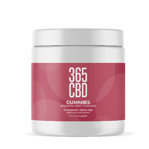 365CBD - Gummies / 150mg CBD / 15 Gummies