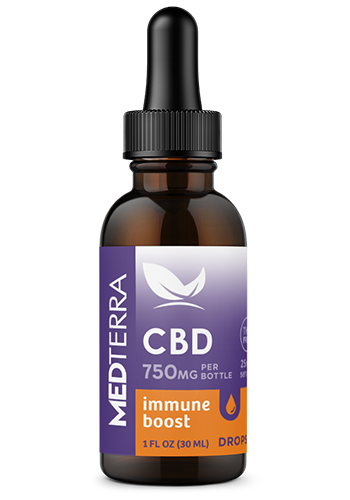 Medterra 750mg CBD Immune Boost | 30ml freeshipping - CBDSupermarket