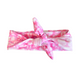 Pink Tie-Dye Knotted Headband-Wholesale 1