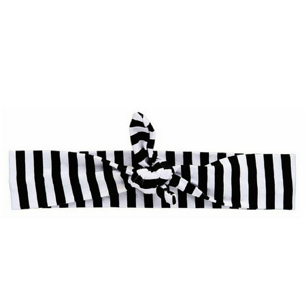 Black Striped Knotted-Wholesale 1