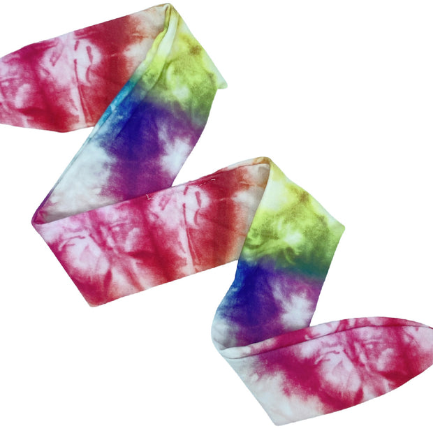 Multi-Colored Tie-Dye Knotted Headband-Wholesale 1