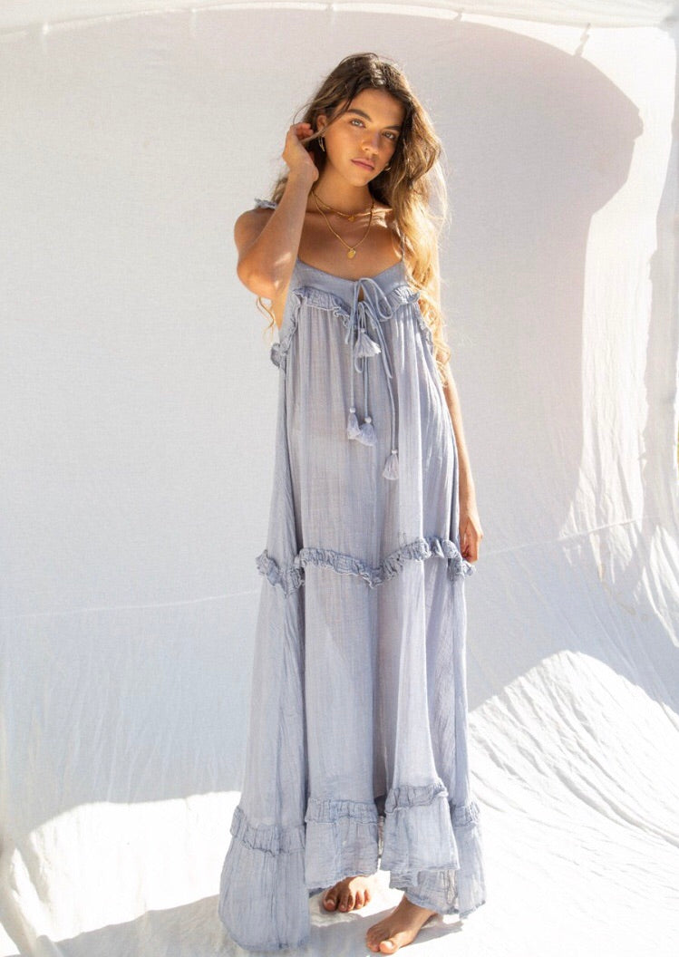 The Dune Cotton Muslin Sun Dress.