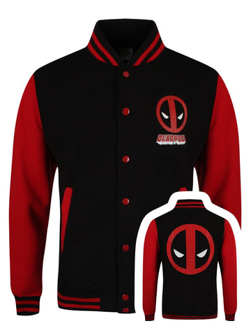 [ 50 % OFF ] DEADPOOL MEN'S VARSITY JACKET - FREE SHIPPING - AXEOP