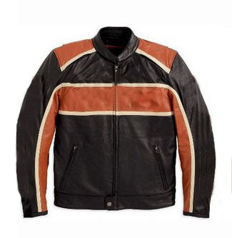 [ 50% OFF] EXCLUSIVE MEN'S CRUISER MOTORCYCLE LEATHER JACKET - FREE SHIPPING - AXEOP