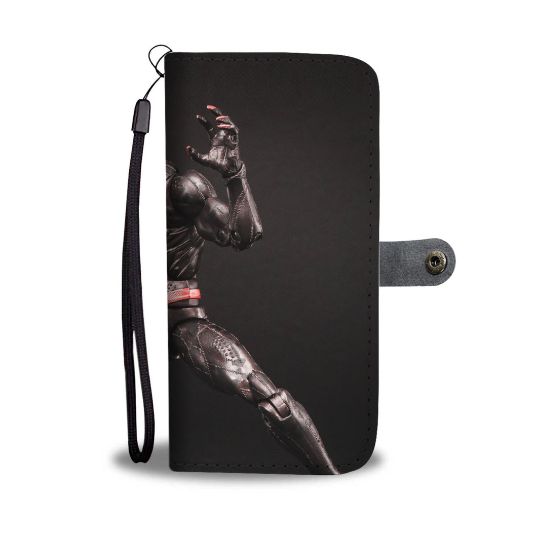 Leather Wallet - Black Panther